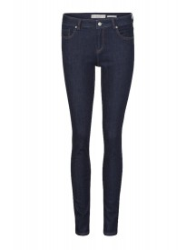 We Fashion Slim Fit Jeans Dark Blue afbeelding