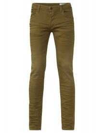 We Fashion Slim Fit Jeans Green afbeelding