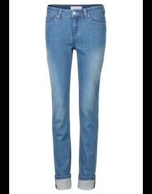 We Fashion Straight Leg Jeans Blue afbeelding