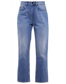 Won Hundred Pearl Jeans Tapered Fit Slash Blue afbeelding