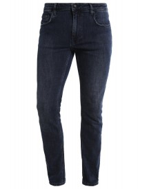 Won Hundred Shady Slim Fit Jeans Petrol Blue afbeelding