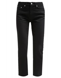 Wood Wood Eve Straight Leg Jeans Black afbeelding