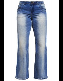 Zizzi Anna Flared Jeans Blue Denim afbeelding