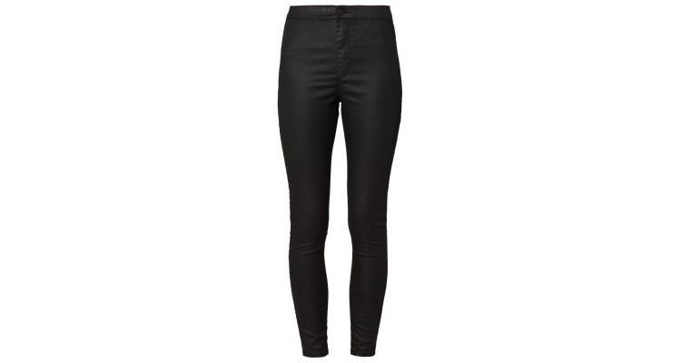 Image Topshop Joni Ultra High Skinny Slim Fit Jeans Black