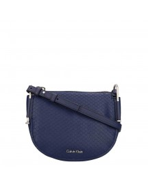 Calvin Klein Arch Small Saddle Bag Navy afbeelding