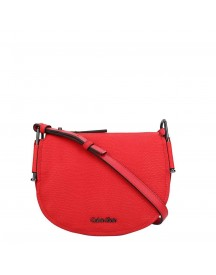 Calvin Klein Arch Small Saddle Bag Scarlet afbeelding