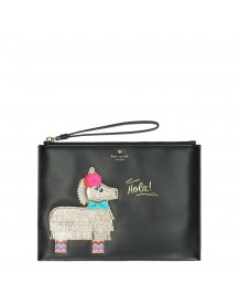 Kate Spade Haute Stuff Pinata Medium Bella Pouch Black Multi afbeelding