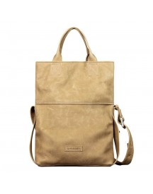 Shabbies Amsterdam Heavy Grain Leather Shoppingbag Light Brown afbeelding