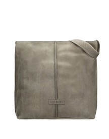 Shabbies Amsterdam Utah Shoulderbag Large Taupe afbeelding