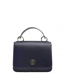Tommy Hilfiger Women Youthful Heritage Flap Crossover Navy afbeelding