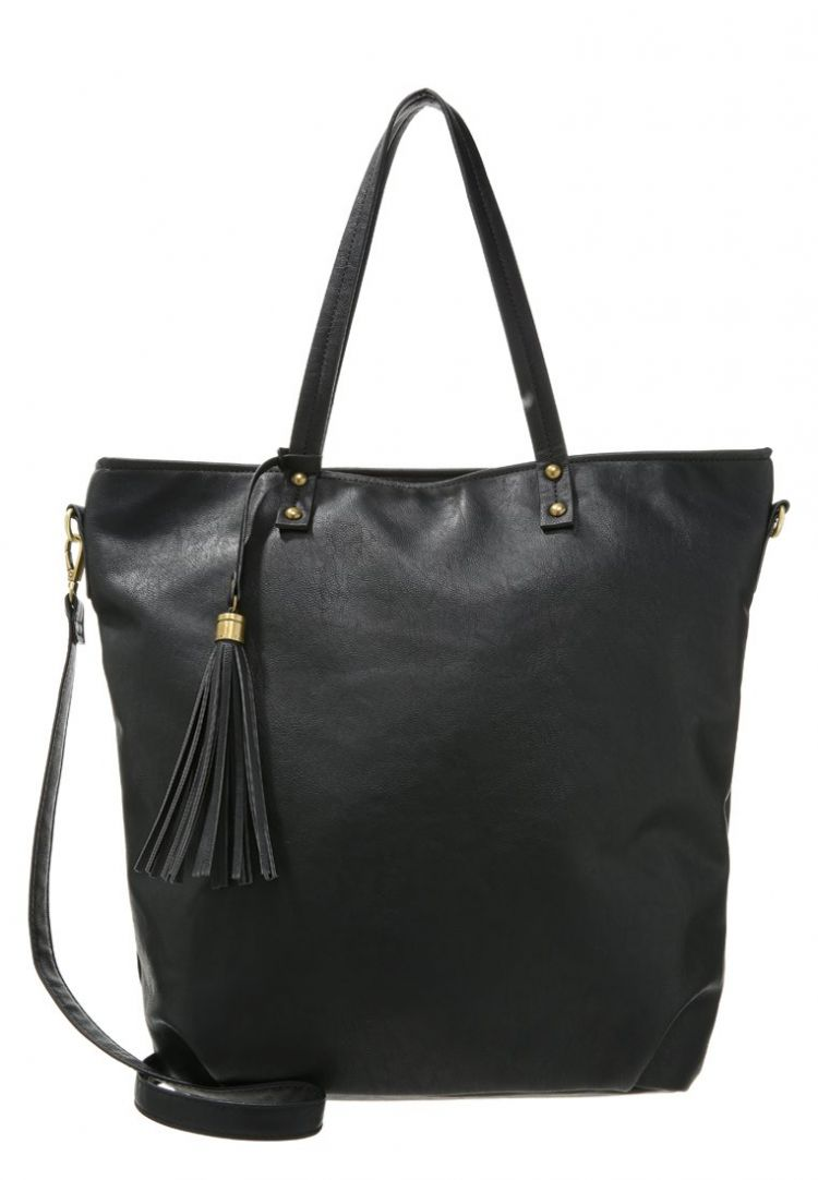 Image Anna Field Shopper Black