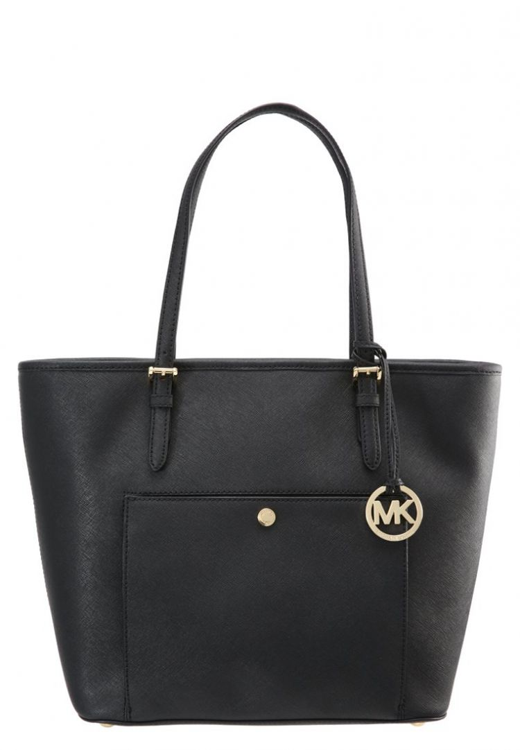 Image Michael Michael Kors Jet Set Shopper Black