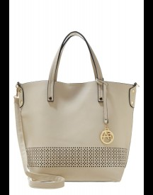 Anna Field Shopper Creme/black afbeelding