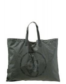 Armani Jeans Shopper Green Urban Chic afbeelding