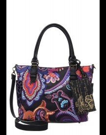 Desigual Saint Tropez Sunset Shopper Multicolor afbeelding