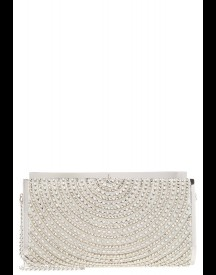 Dune London Ebella Clutch Silver afbeelding