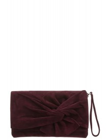 Karen Millen Laurel Canyon Clutch Purple afbeelding