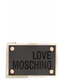 Love Moschino Clutch Transparente afbeelding
