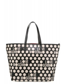 Love Moschino Shopper Black/white afbeelding
