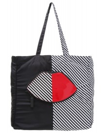 Lulu Guinness Shopper Red/black/white afbeelding
