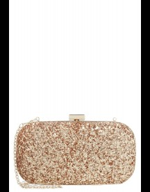 Mascara Stone Clutch Rosegold afbeelding