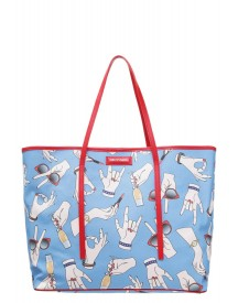 Trussardi Misura Shopper Light Blue afbeelding