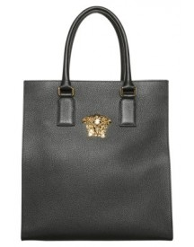 Versace Palazzo Shopper Black/goldcoloured afbeelding