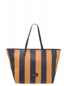 Weekend Maxmara Once Shopper Navy Blue/yellow afbeelding