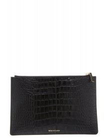 Whistles Bubble Clutch Black afbeelding