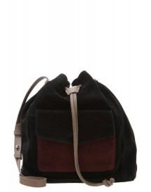 Zign Shopper Black/taupe/burgundy afbeelding