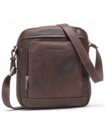 Arthur&aston Cross Body Tas 62-1040 Kastanje Bruin afbeelding