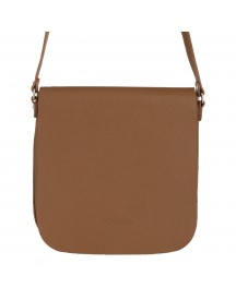 Mazarin Cross Body Tas Ted Camel Grain afbeelding