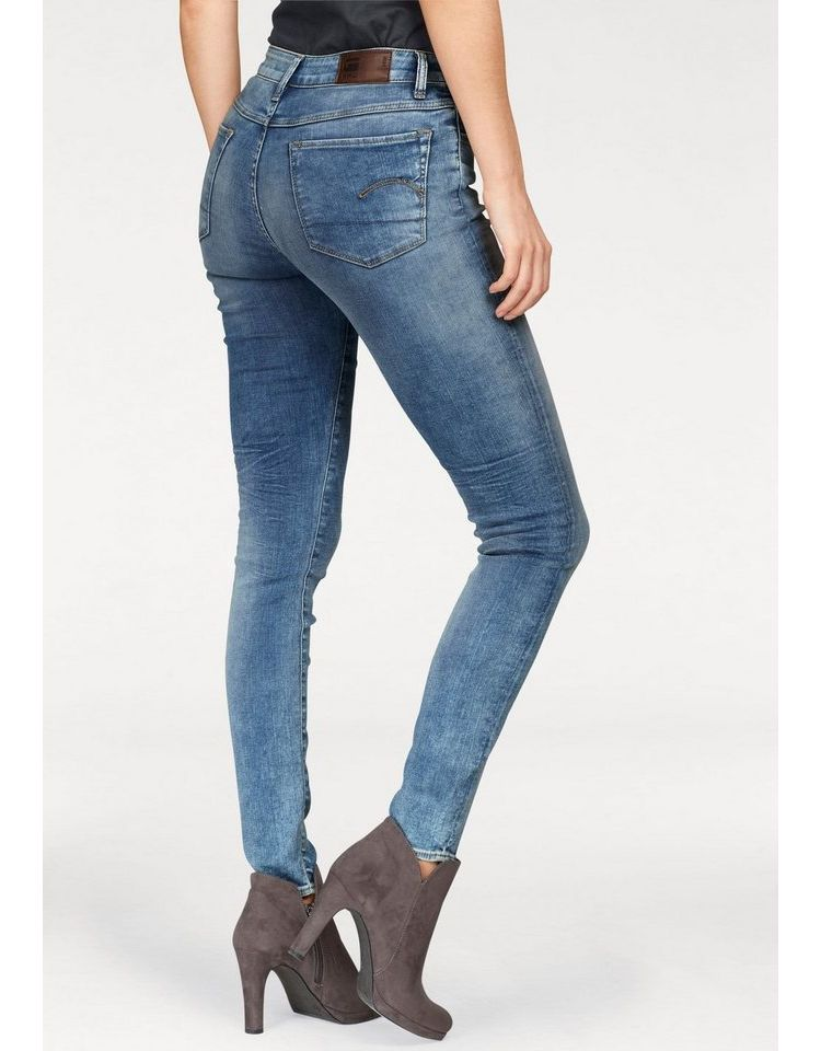 Image G-star Raw Skinny Jeans 3301 Deconst Mid Skinny