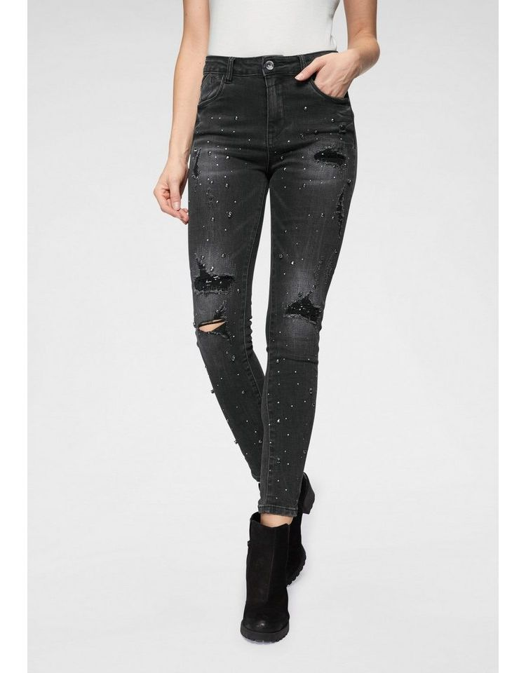 Image Nu 15% Korting: Haily's Skinny Fit Jeans Katima