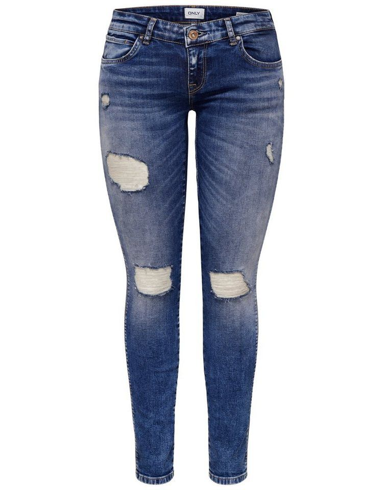 Image Nu 15% Korting: Only Coral Super Low Skinny Jeans