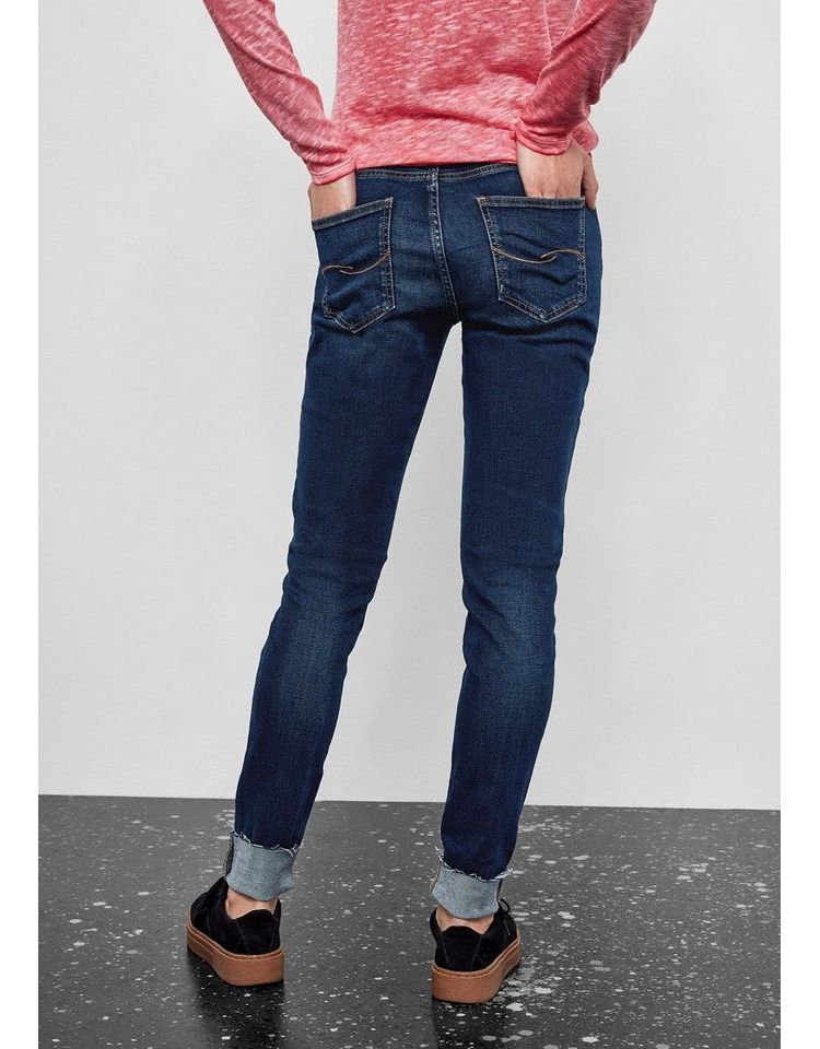 Image Nu 15% Korting: Q/s Designed By Sadie Superskinny: Blue Jeans