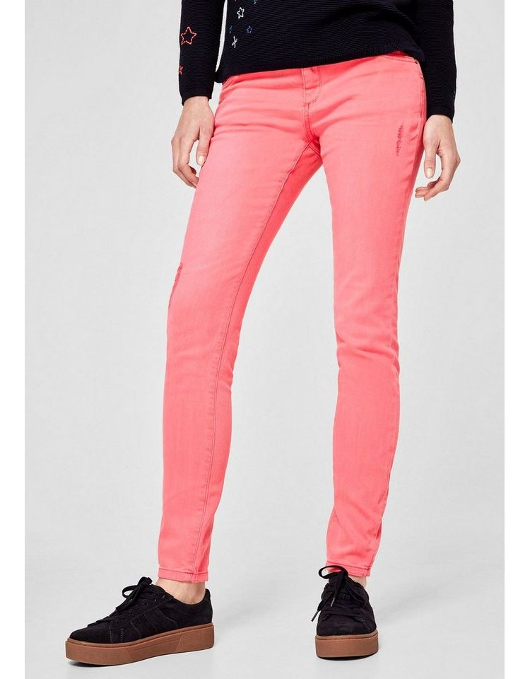 Image Nu 21% Korting: S.oliver Red Label Shape Superskinny: Twill Stretchbroek