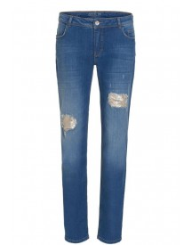 Betty Barclay Jeans In Destroyed Look afbeelding