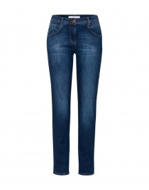 Nu 20% Korting: Brax Shakira - Dames Jeans Vintage Denim: Five Pockey Jeans In Used Look afbeelding