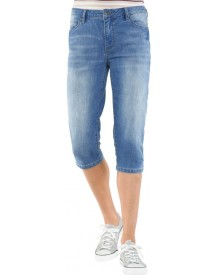 Collection L. Capri Jeans In Five-pocketsmodel afbeelding