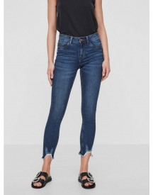 Noisy May Lucy Rw Riped Ankle Jeans afbeelding
