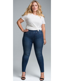 Nu 15% Korting: Nydj Sculpt Pull-on Legging In Curves 360 Denim afbeelding