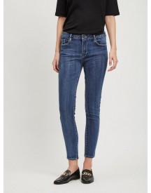 Nu 21% Korting: Object Mid-waist Skinny Jeans afbeelding