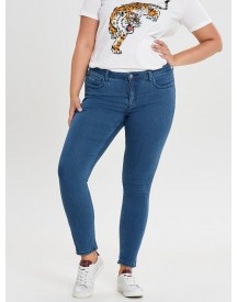 Only Carmakoma Curvy Karla Reg Ankle Skinny Jeans afbeelding