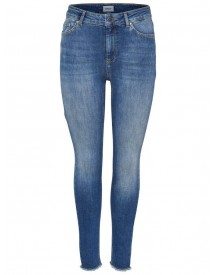 Nu 15% Korting: Only Blush Mid Ankle Raw Skinny Jeans afbeelding