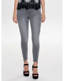 Nu 15% Korting: Only Carmen Reg Ankle Raw Skinny Jeans afbeelding