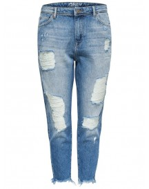 Nu 15% Korting: Only Tonni Destroyed Boyfriend Jeans afbeelding