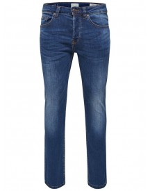Nu 15% Korting: Only & Sons Weft Med Blue Regular Fit Jeans afbeelding