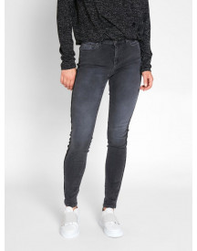 Nu 15% Korting: Pieces Mid Waist Skinny Fit Jeans afbeelding