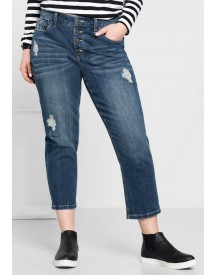 Sheego Denim Rechte Stretchjeans In 7/8-lengte afbeelding